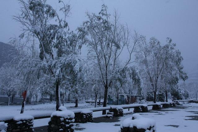十渡风景区2009冬景欣赏